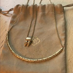 Kendra Scott Amber necklace